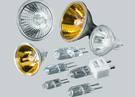 Halogen & Gas-filled Lamps