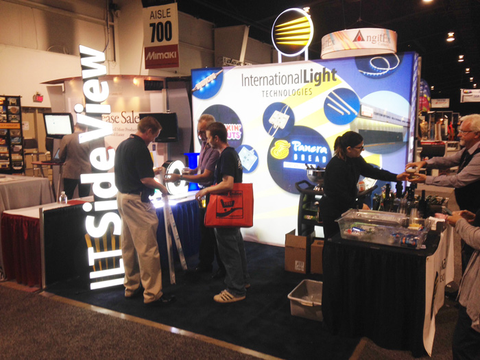 ILT exhibiting at Sign Association of Canada 2014