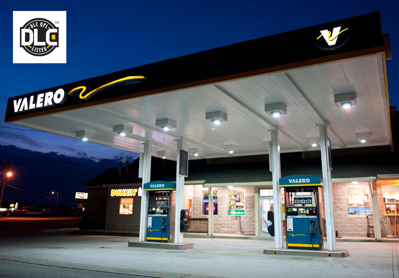 ILT Canopy Light at Valero gas station