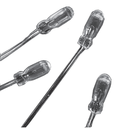 515 T-1 ¼ wire lead bulb