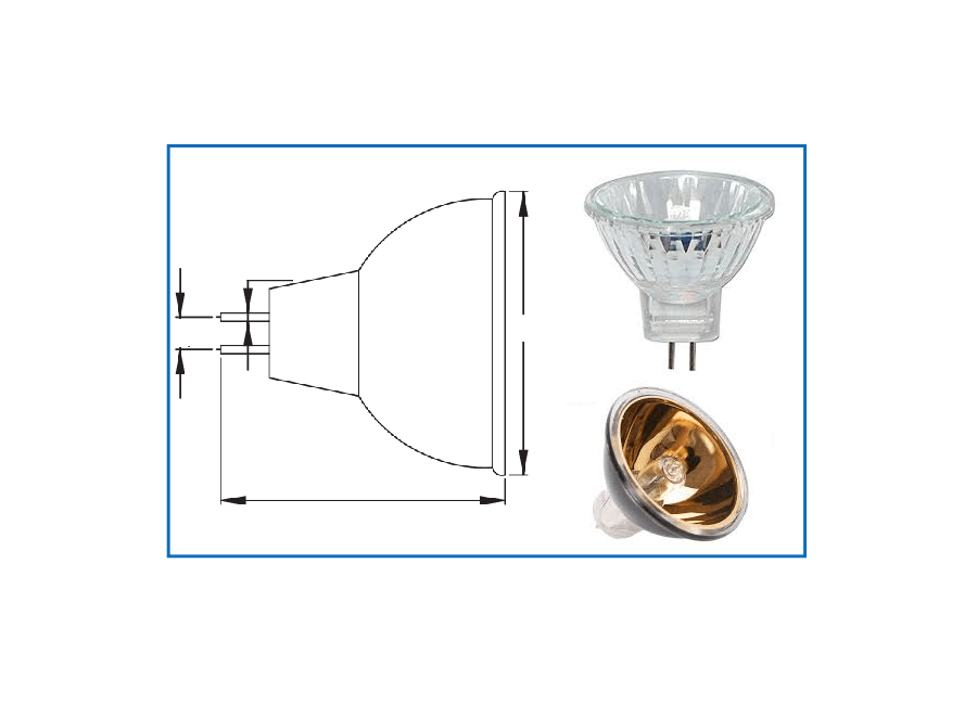 L51MR11 12° 35W Halogen