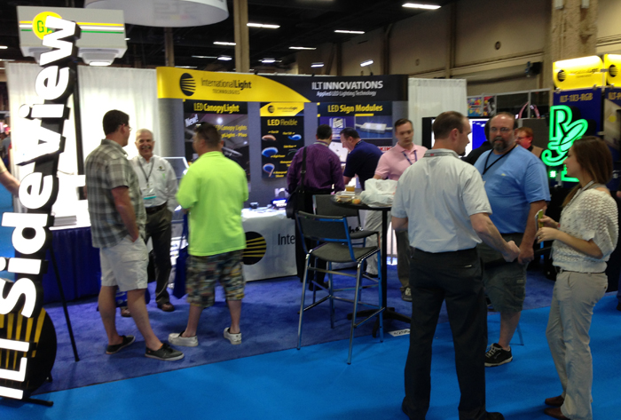 ILT exhibiting at ISA Sign Expo