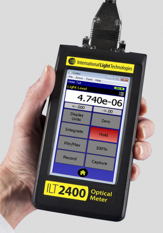 Portable hand-held optical radiation hazard measurement system