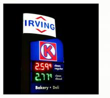 Irving Gas LED K2 Sign Retrofit