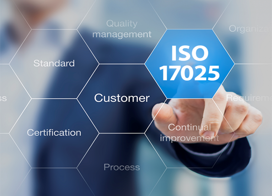 ISO17025 accredited calibration with NIST traceability
